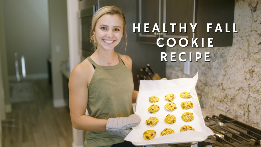 Healthy, Easy Fall Cookie Recipe