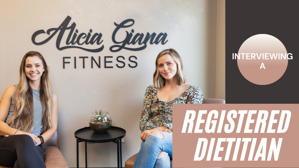 Interviewing a Registered Dietitian